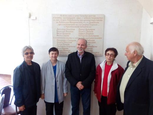 Доц. д-р Борислав Великов е сред най-големите дарители за построяването на храма в Бойчиновци